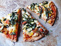 Vöröskaktusz diétázik: Fitt pizza Vegetable Pizza, Vegetables, Food, Essen, Vegetable Recipes, Meals, Yemek, Veggies, Eten