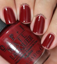 OPI - Lost On Lombard- fabulous fall color!