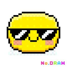 Emoji gafas de sol  Hecho por oriana