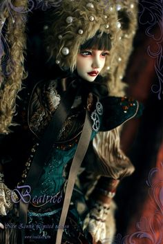 "laresinerie: "" * LIMITED EDITION * SOULDOLL Zenith Beatrice Until January 28th 2016 """