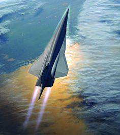 SR-72 Hypersonic Aircraft