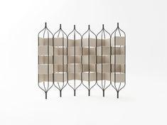 trellis bandaged / 立体的なフレームを連結したパーティション for Milan Design Week