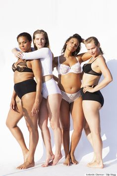 Models of all sizes strip down in the name of body diversity