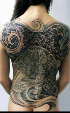 Related Posts:Vape TattoosHorse Tattoos: What do They Mean?Which Sports Stars Have the Best Tattoos?Tattoos as Casino AdvertisementsMost Common Reasons Why. Full Back Tattoos, Great Tattoos, Sexy Tattoos, Beautiful Tattoos, Body Art Tattoos, Tribal Tattoos, Latest Tattoos, Sleeve Tattoos, Tattoo Girls
