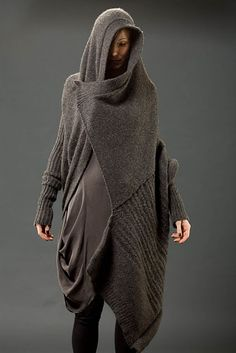 Hooded Cloaks Pagan Wicca Witch:  #Cloak, Design by Alessandra Marchi. unique clothing shapes