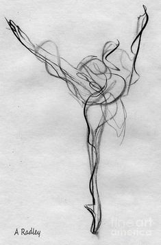 I am not a dancer, but I think a dancer should get this as a tattoo. It's beautiful.