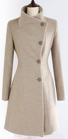 love this women's #coat, especially the hourglass shape it gives