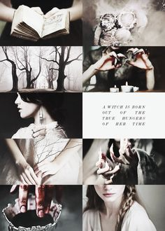 ♔ A Witch is born out of the true hungers of her time. I am a child of the poisonous wind that copulated with the river on an oil-slick, garbage infested midnight. I turn about on my own parentage. I inoculate against those very biles that brought me to light. I am a serum born of venoms. I am the antibody of all time.