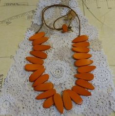 Rare Rabbit Falling Feathers Necklace