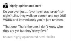 Me @ Millard Nullings, Newt Scamander, Loki, Moriarty, the Joker (Heath Ledger), yeah you get the idea