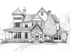 Commission a pen-and-ink drawing of your home...doing this for my grandparent's home to remind us of where we have been and where we should be going..