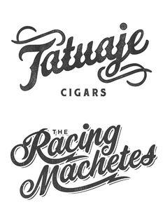 Vintage Type Logos. Wooilikeit