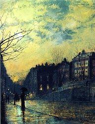 John Atkinson Grimshaw - (1878) - Google Search
