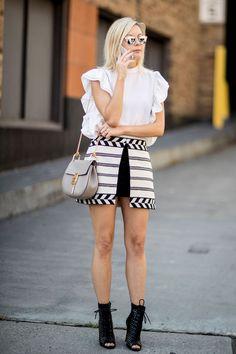 Неделя моды в Нью-Йорке: Стритстайл