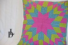 #patchwork #streaks #star #vánoční #hvězda #tutorial #šablony #pravítka #lizadecor
