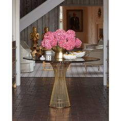 Traditional Foyer With Round Table // Bradshaw Orrell #entryways #foyer # Entry | Home Ideas | Pinterest | Foyers, Traditional And Rounding