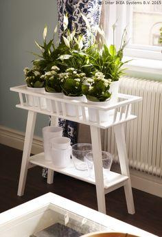 Prisjeti se ljeta u svojem domu s pomoću najdražih biljaka. www.IKEA.hr/LANTLIV_stalak_za_biljke