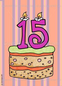 11 Best Happy 15th Birthday Images