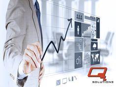 """Q SOLUTIONS ¿Tus productos se distribuyen de forma eficiente? La logística es """"el movimiento de los bienes correctos en la cantidad adecuada hacia el lugar correcto en el momento apropiado."""" www.qs3.com.mx"""
