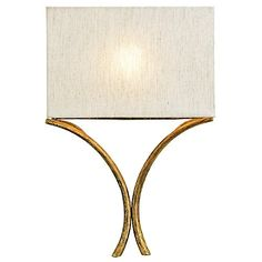"Cornwall Wall Sconce by Currey and Company at Lumens.com  12""W x 3.75""D x 18.5""H"