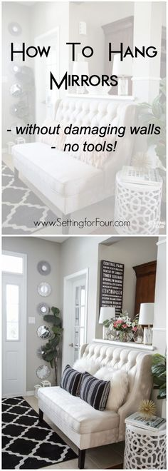 35 best hanging mirrors images round mirrors hanging mirrors mirrors rh pinterest com
