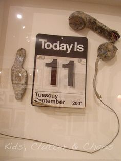 Remembering September 11th - Kids Clutter and Chaos | Kids Products