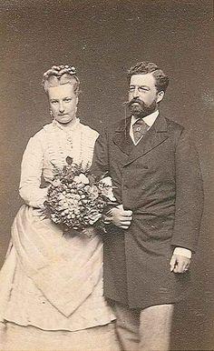 Prince Philipp de Saxe-Coburg et la Princesse Louise de Belgique(1858-1924)