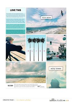 Project Mouse (Paradise) – Scrapbook Kit and Journal Cards | Sahlin Studio |  Digital Scrapbooking Designs