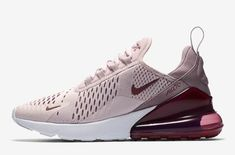 Release Date: Nike Air Max 270 Barely Rose The ladies will soon be able to pick up a pair brand new colorway of the Air Max 270 just in time for the Spring season. Dubbed the Nike Ai... https://drwong.live/sneakers/nike-air-max-270-barely-rose-release-date/