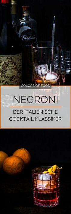 Hier findest du das Rezept für einen Negroni. Ein Klassiker, der in keiner guten Bar fehlen darf! Kräutrig, süß und bitter. Der ideale Aperitif. Cheers!