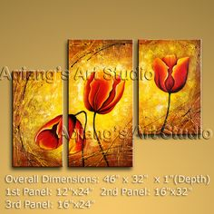 Modern Contemporary Oil Painting Large Wall Art On Canvas Floral ( Framed) BoYi $138.00 . More paintings available from eBay store http://stores.ebay.com/Oriental-Arts-And-Crafts/