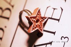Star Ring . Gingerbread