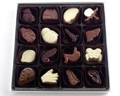 Chocolates Shaped Like Organs