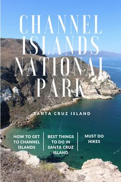 A day trip to Channel Islands National Park, Santa Cruz Island, is the perfect getaway from work. Channel Islands National Park is located off the coast California National Parks, National Parks Usa, Parc National, California Travel, Lompoc California, Santa Cruz California, Sequoia National Park, Southern California, Channel Islands California