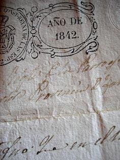 ~ Año de 1842