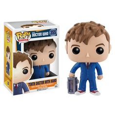 Doctor Who 10th Doctor with Hand Pop! Vinyl Figure - Funko - Doctor Who - Pop! Vinyl Figures at Entertainment Earth