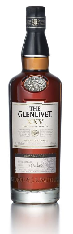 The Glenlivet, 25 years of age