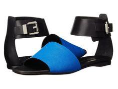 CoSTUME NATIONAL コスチュームナショナル レディースシューズ 靴 サンダル フラット Color Block Flat Sandal - Royal 【代引不可】【あす楽不可】【送料無料】