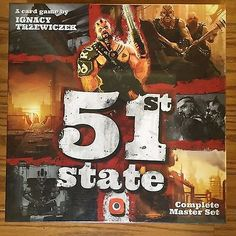 Other Card Games and Poker 2552: 51St State: Complete Master Set -> BUY IT NOW ONLY: $35.99 on eBay!