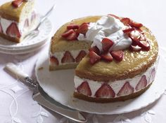For Mother's Day: The Beautiful, Doable Strawberry Cake from Baking Chez Moi