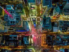 Licht und Schatten: Der Times Square in New York