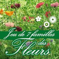 Découpages des cartes du jeu des 7 familles de fleurs