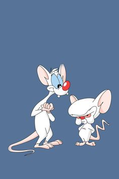 My favorite mice Pinky & The Brain from the classic 90's cartoon show