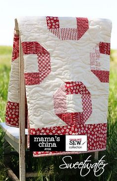 Notes from the Patch: Red and White Quilt