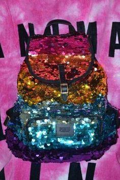 Pink Victorias secret backpack ♥