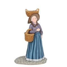 Luville - Bertha carrying basket on head