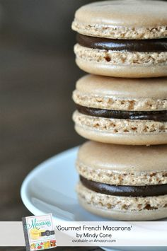 I really want to learn how to make these.. Amazing Gourmet French Macarons Recipe