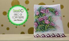 Pano de copa tulipas - Luis Moreira