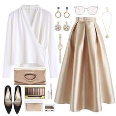 Modest Outfits, Skirt Outfits, Chic Outfits, Trendy Outfits, Look Fashion, Hijab Fashion, Fashion Dresses, Womens Fashion, Fashion Trends