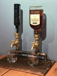 Double liquor dispenser/Dual whiskey dispenser